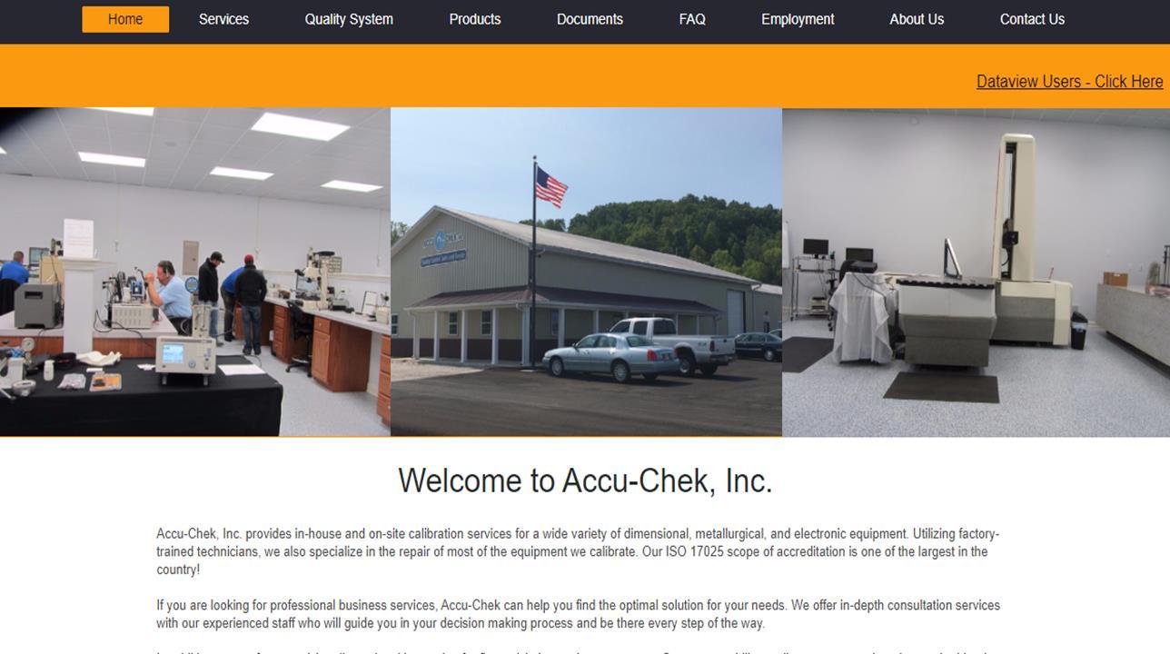 ACCULAB Measurement Standards, Inc.