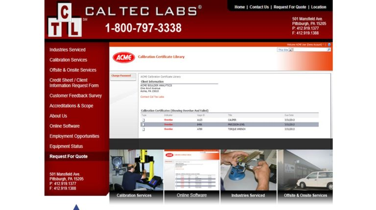 Cal Tec Labs Incorporated