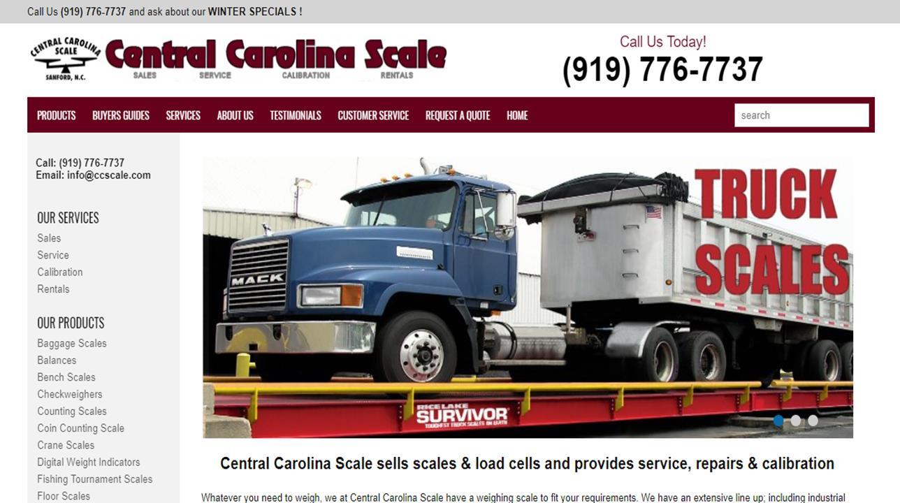 Central Carolina Scale, Inc.