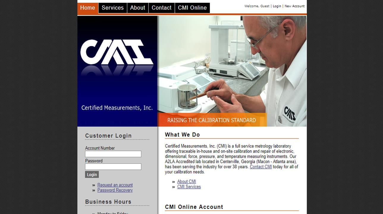 Certified Measurements, Inc.