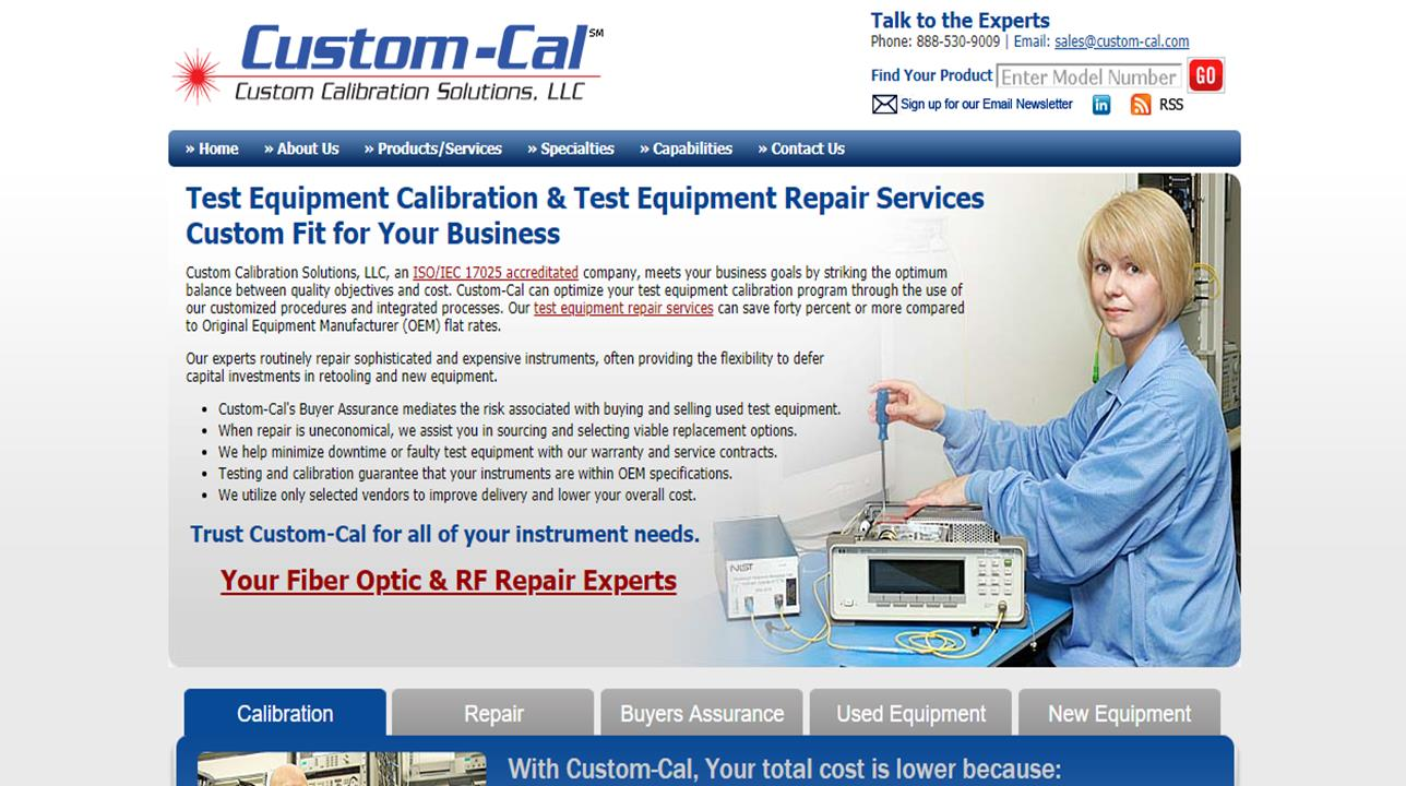 Custom Calibration Solutions, LLC