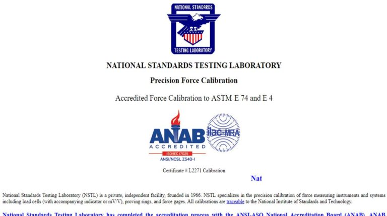 National Standards Testing Laboratory