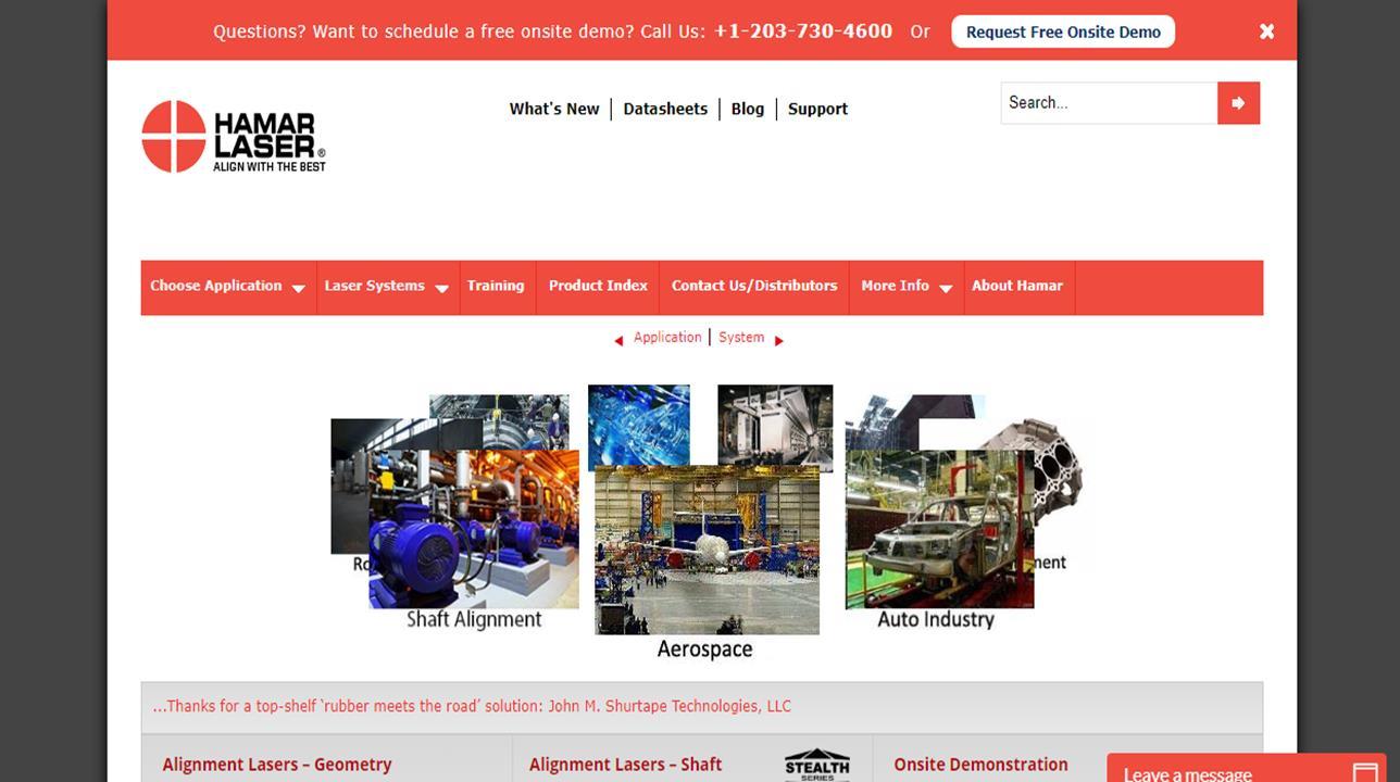 Hamar Laser Instruments, Inc.