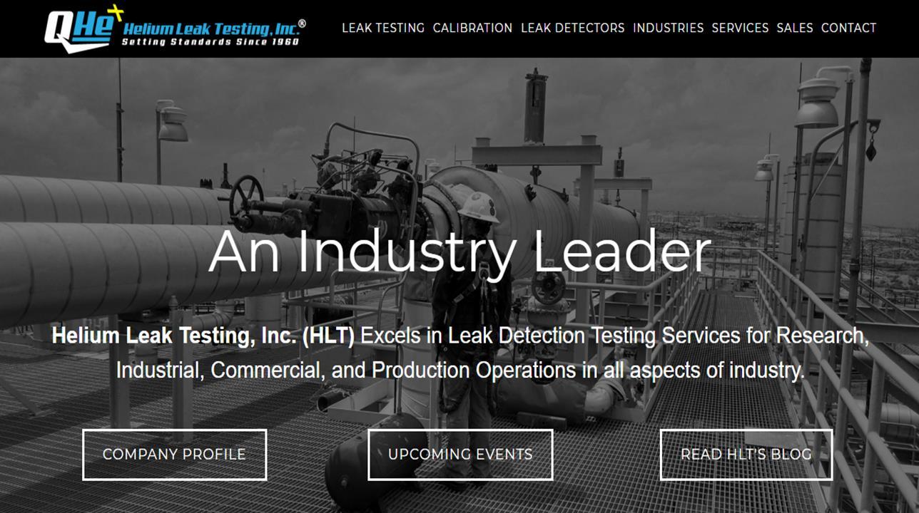 Helium Leak Testing, Inc.