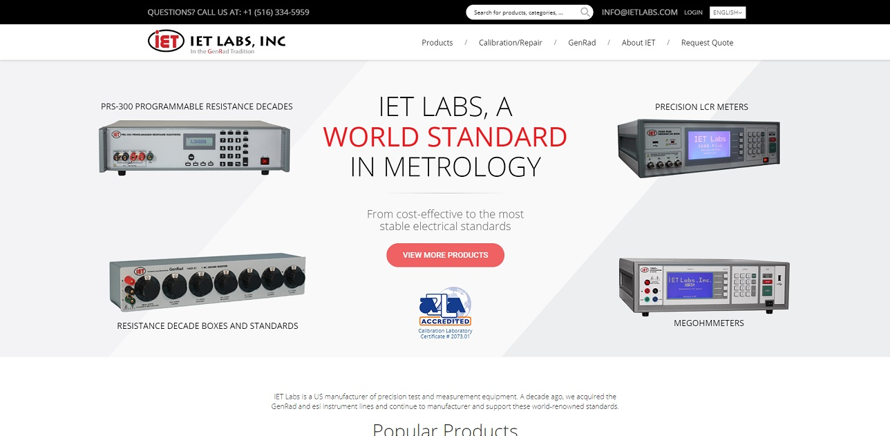 IET Labs, Inc.
