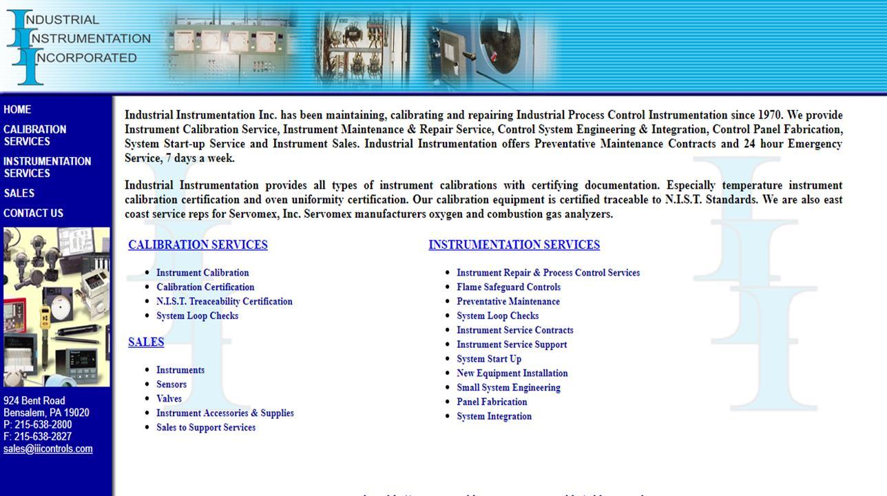 Industrial Instrumentation Inc.