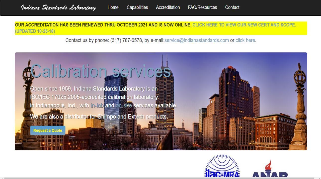 Indiana Standards Laboratory