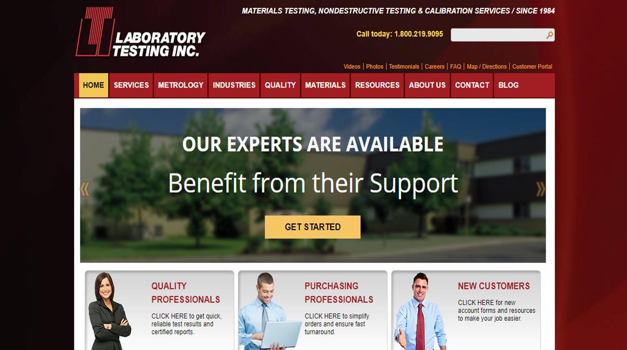 LTI Metrology/Calibration Division of Laboratory Testing Inc.
