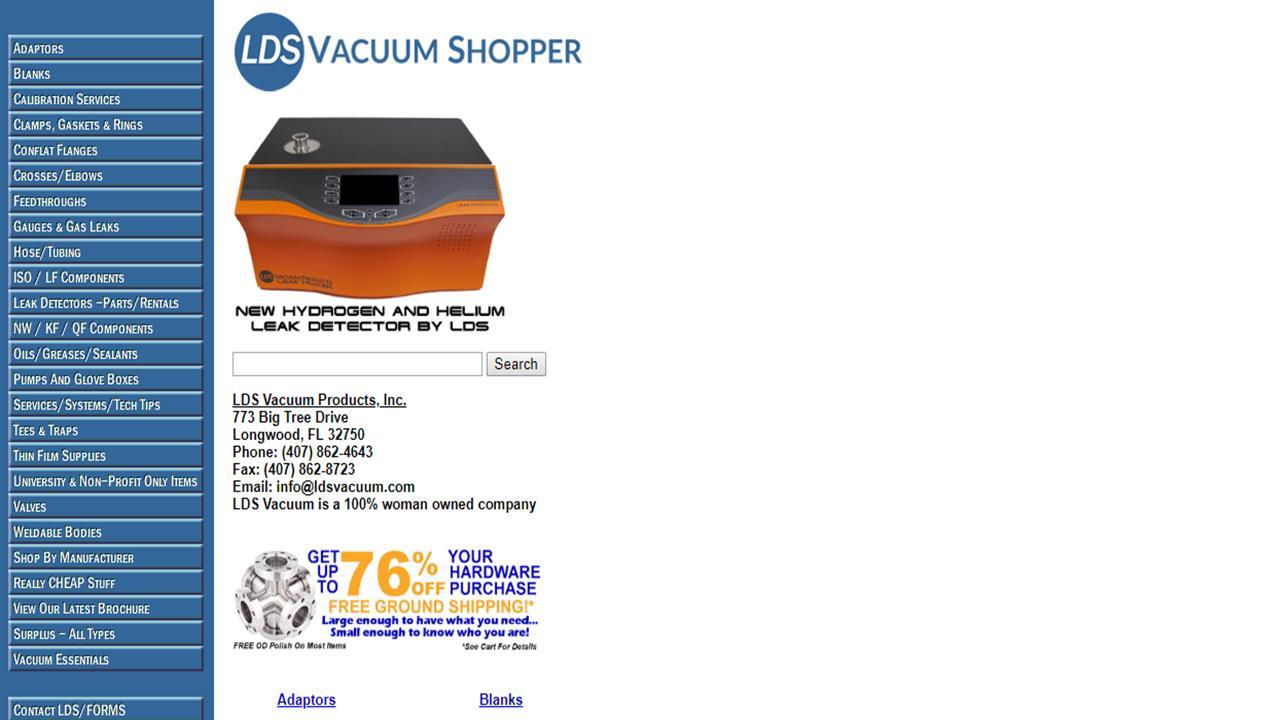 LDS Vacuum Products, Inc.