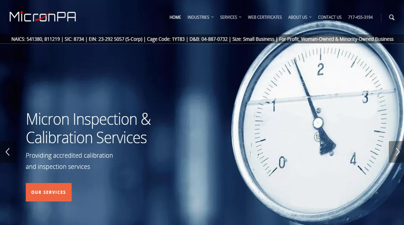 Micron Inspection & Calibration Services