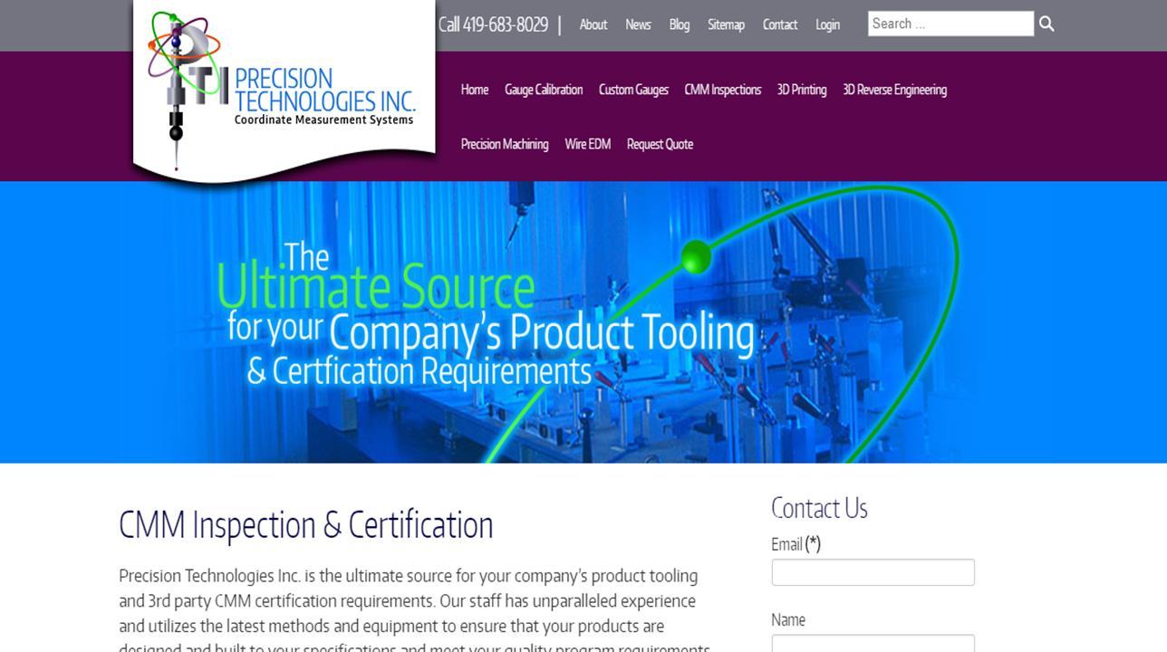 Precision Technologies Inc.