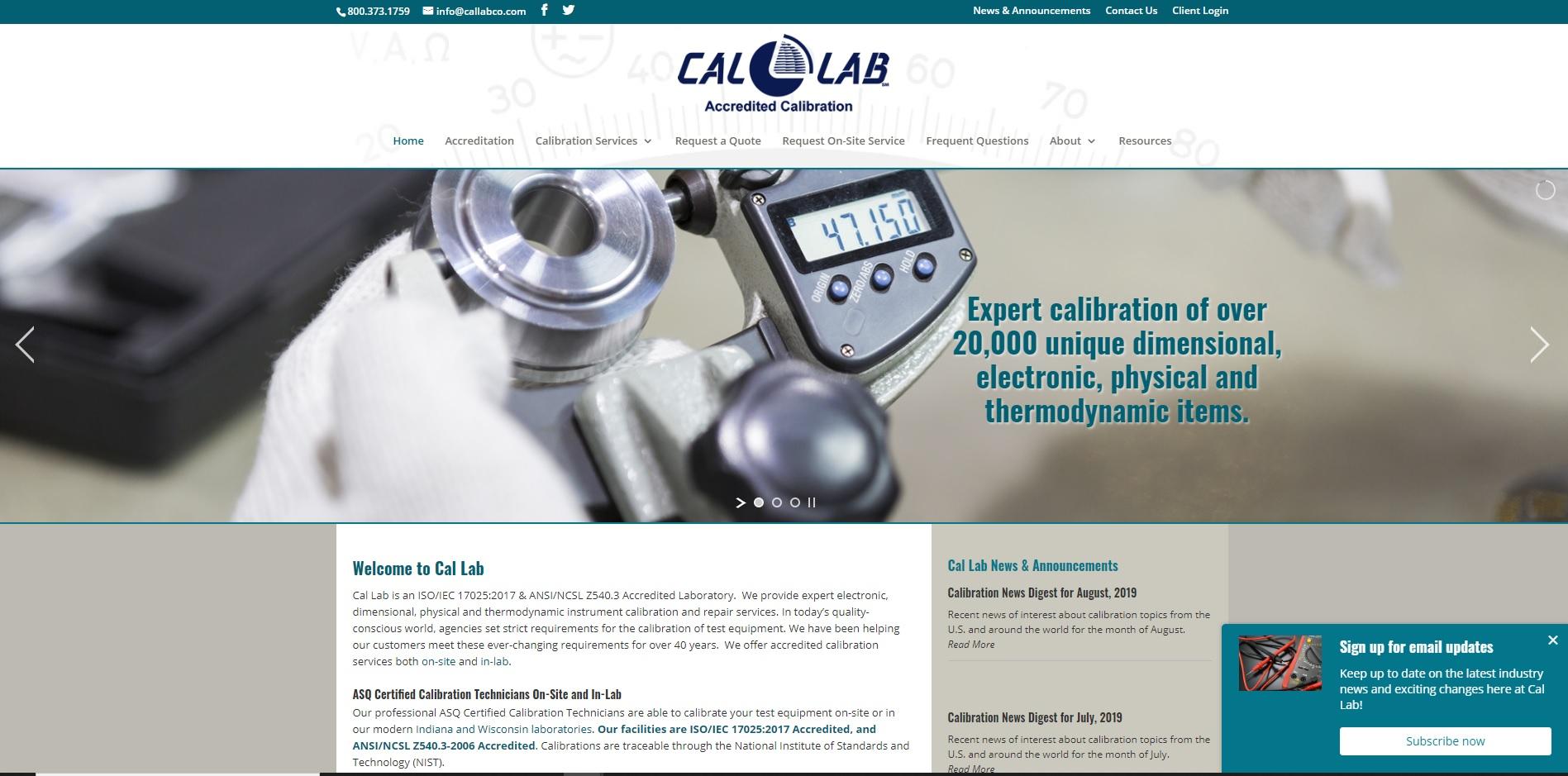 Calibration Laboratory, LLC