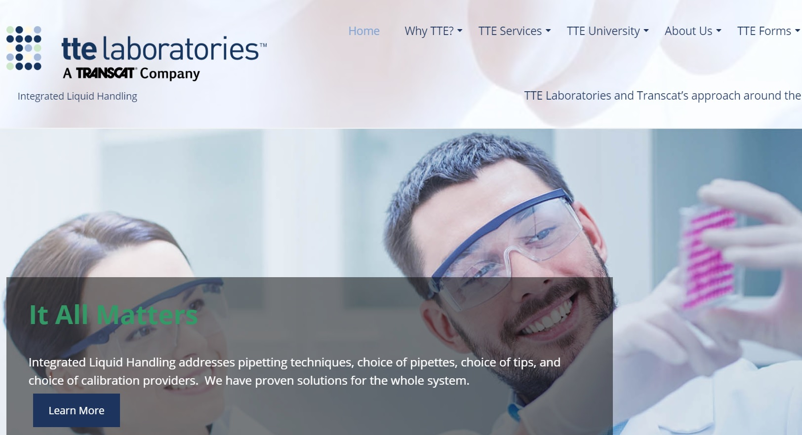TTE Laboratories Inc, a Transcat Company