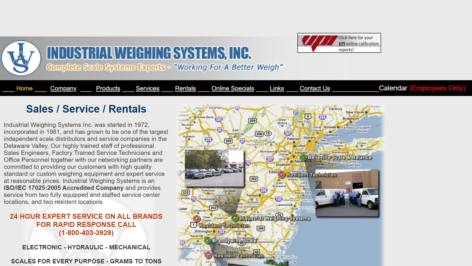 Industrial Weighing Systems Inc